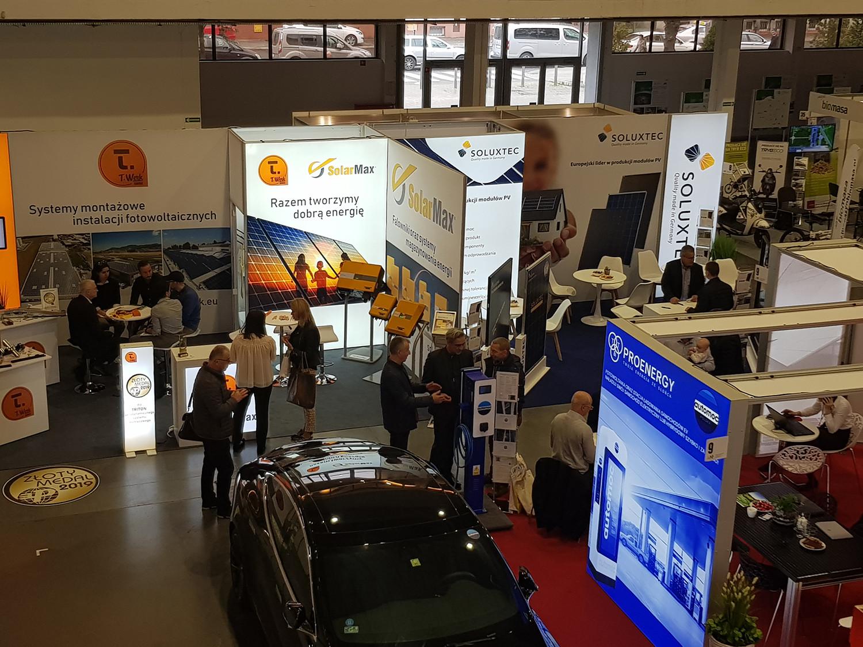 Messestand T.Werk - SolarMax - Soluxtec
