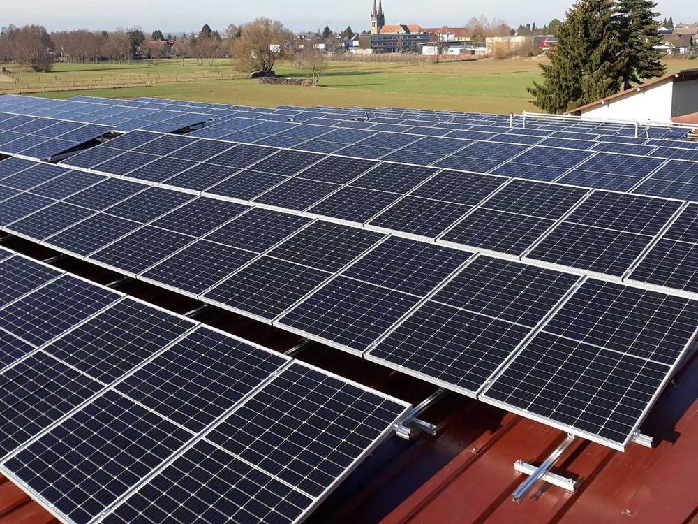 93 kWp – Sonderanfertigung – Verbauort ist 77833 Ottersweier