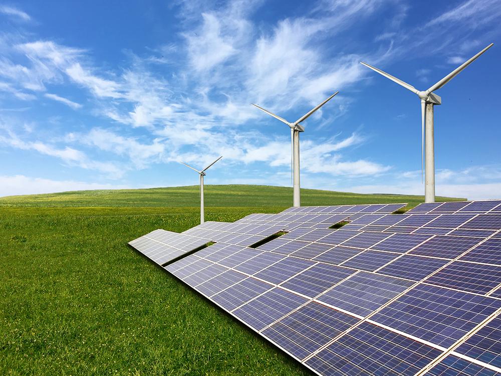 Deutschland weltweit führend bei Wind und Solar – @shutterstock | xujun
