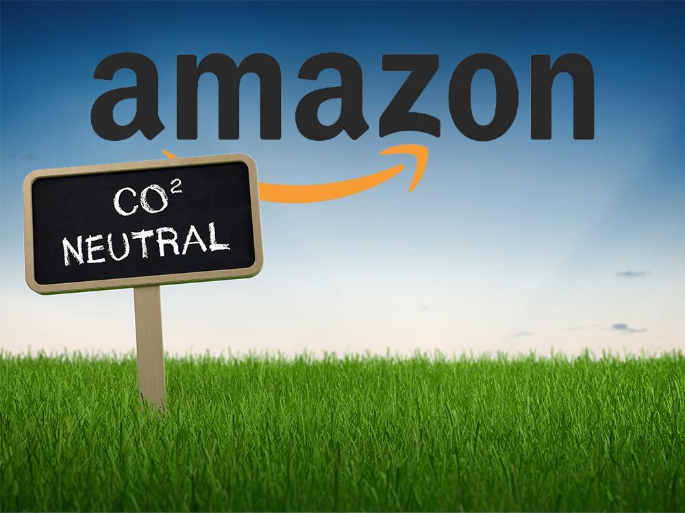 CO2 Neutralität mit Photovoltaik – Von Amazon lernen - @shutterstock|PlusONE / @amazon
