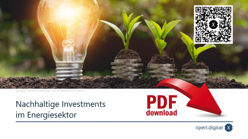 Nachhaltige Investments im Energiesektor - PDF Download
